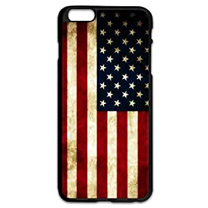 Retro Style USA Flag Generic Cases For IPhone 6 Plus