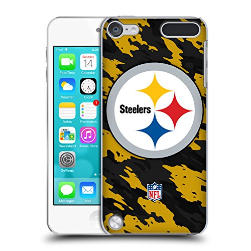 Price comparison product image Official NFL Camou Pittsburgh Steelers Logo Hard Back Case for iPod Touch 5th Gen / 6th Gen