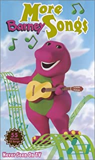 product image for Barney - More Barney Songs (Clamshell) [VHS]
