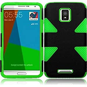 Dynamic Slim Dual Layer Hybrid Armor Cover Case For Samsung Galaxy Note 4