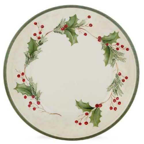 Lenox Holiday Gatherings Berry 9-Inch Accent Plate