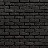 Koni Brick Old Chicago Charcoal 10.76 sq. ft. Flats 0.65 in. x 8.20 in. x 2.50 in. Thin Brick