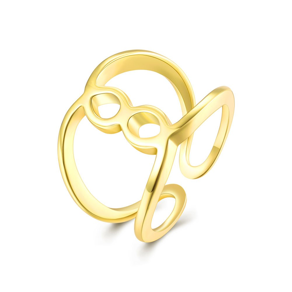 YXYP Impression 1 pcs anillos anillo elegante anillo de moda accesorios de joyería niña regalo de san valentín anillo de bodas anillo de lujo anillo romántico AKR008