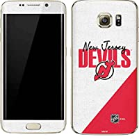 NHL New Jersey Devils Galaxy S7 Edge Skin - New Jersey Devils Script Vinyl Decal Skin For Your Galaxy S7 Edge