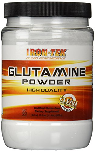 Iron Tek Essential Glutamine Powder, 1.1-Pound