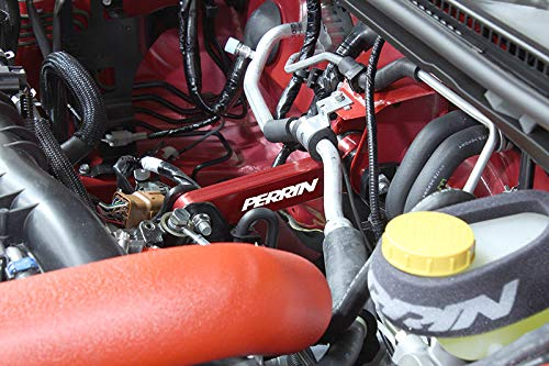 02-11 Subaru Impresa // 02-12 Wrx // 04-12 Sti Perrin Performance PSP-DRV-101RD Red Pitch Stop Mount