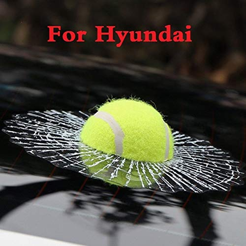 ChenghuaguoChenghuaguo 2019 Funny 3D Tennis Ball Hits Decals Car Body Stickers Styling for Hyundai Coupe Dynasty Elantra Equus Genesis Coupe Veloster from ChenghuaguoChenghuaguo
