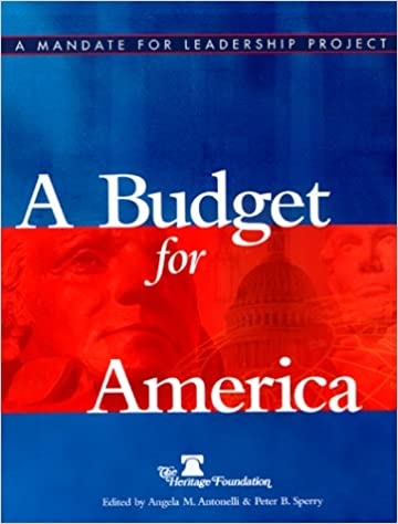 amazon a budget for america angela antonelli peter sperry