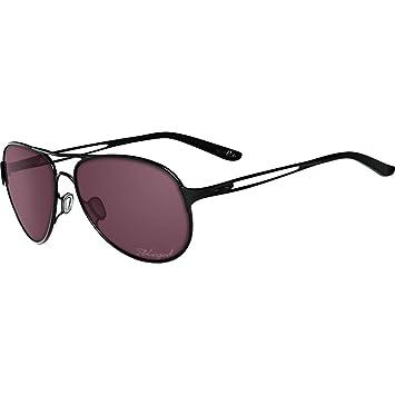 Oakley Damen Sonnenbrille »CAVEAT OO4054«, schwarz, 405403 - schwarz/ rot