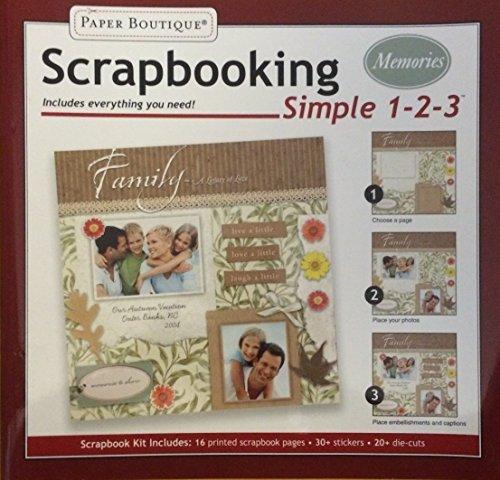 Scrapbooking Memories Kit (Simple 1-2-3)