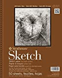 """Strathmore 400 Series Sketch Fine Tooth Surface Paper Pad (9""""X12)"""
