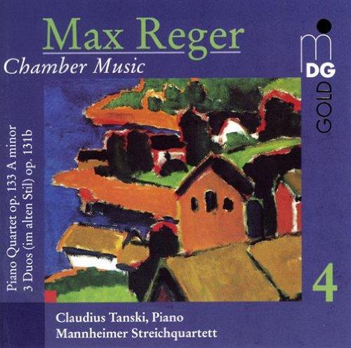 Max Reger: 2021 new Chamber Max 52% OFF Music Vol. 4 Three Op. Quartet 133 - Piano