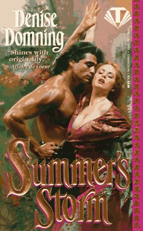 book cover of Summer\'s Storm