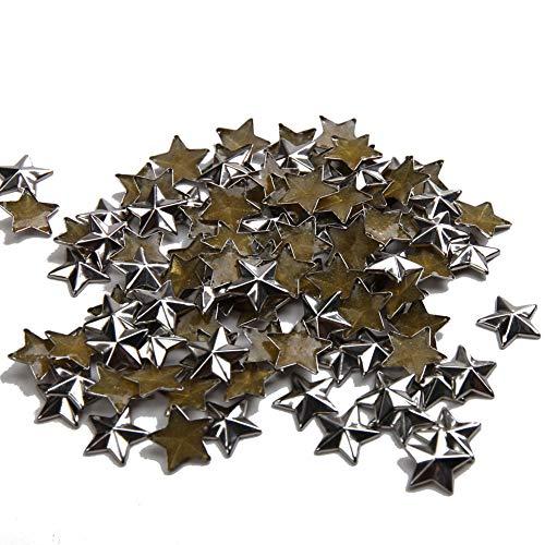 - Beadsland Hotfix Iron On, 8mm Flat Back Star Studs - 1/4