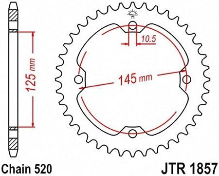 JT Sprockets JTR1857.40 40T Steel Rear Sprocket