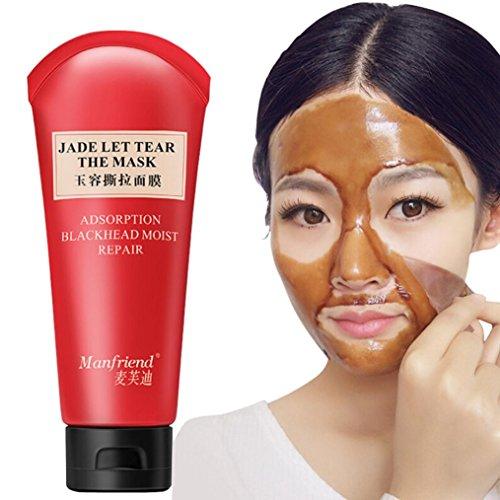 Hunputa Blackhead Remover Mask, Blackhead Peel Off Mask, Fac
