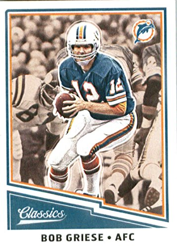 2017 Panini Classics #134 Bob Griese Miami Dolphins Football Card