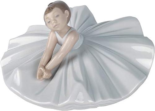 NAO Dance Class. Porcelain Ballerina Figure.