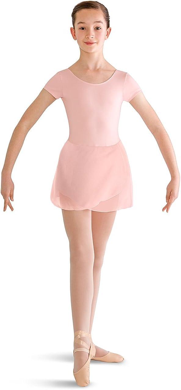 Bloch Dance Girls Prisha Short Sleeve Leotard Dress