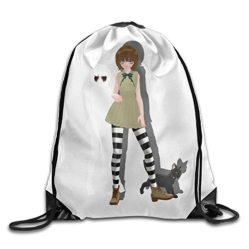 Colla Fran Bow Fashion Gymsack Sack Bag