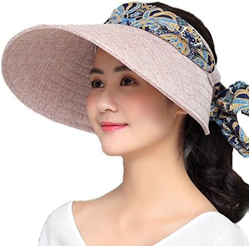 サンバイザー リネン レディース ハット つば広 折りたたみ可能 おしゃれ 帽子 洗濯可能 自転車用 UVカット 吸汗速乾 抗菌防臭 紫外線対策 日焼け対策 ピクニック 夏春