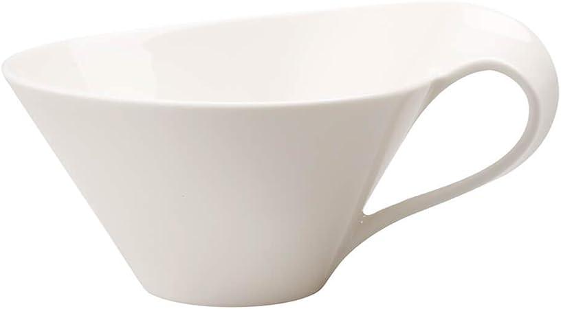 Villeroy & Boch NewWave Taza de té, Porcelana Premium, Blanco ...