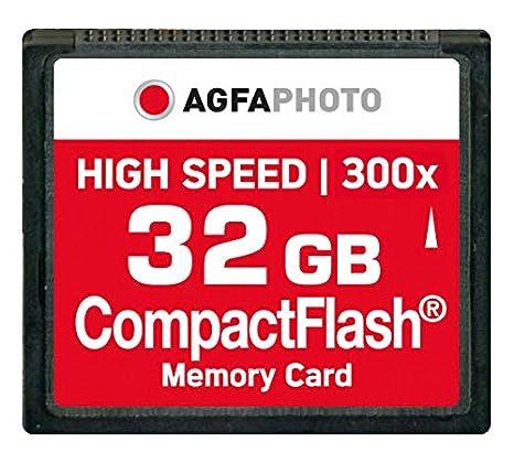 Agfaphoto Alta Velocidad 120X Mlc Compactflash (CF) 32 GB ...