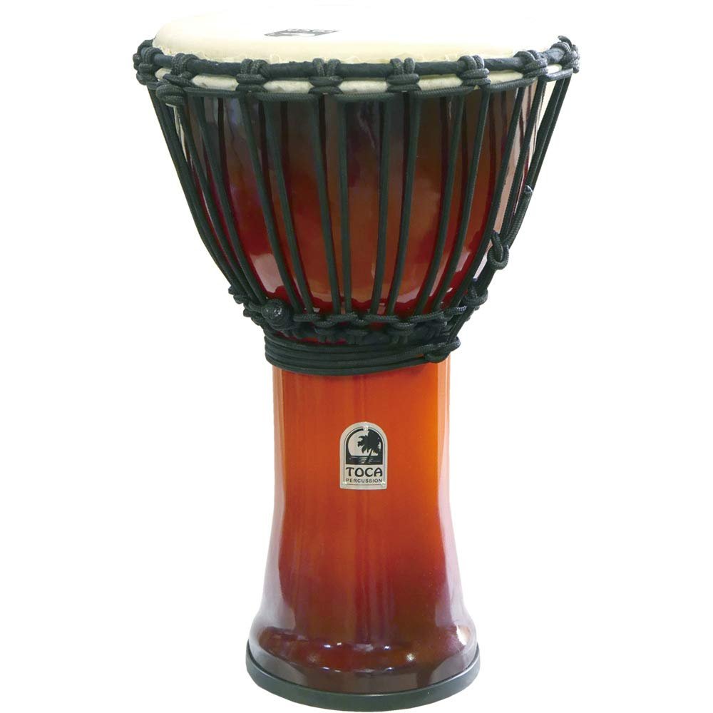 TOCA SFDJ-9AFS Freestyle Roped Tuned Djembe 9 AF SNST ジャンベ   B07DQSC3WB