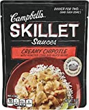 Campbell's Skillet Sauces, Creamy Chipotle with Roasted Corn and Black Bean, 9-Ounce Pouches (Pack of 8)