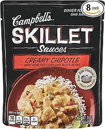 Salsas Campbell s Sartén, bolsas de 9-Ounce: Amazon.com ...