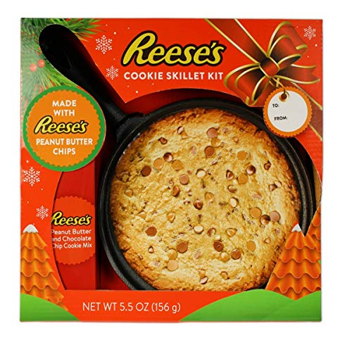 (Reese's Peanut Butter and Chocolate Chip Cookie Skillet Kit, 12)