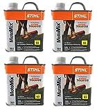 Stihl 7010 871 0203 Motomix 50:1 2 Cycle PreMix Fuel, Pack Of 4