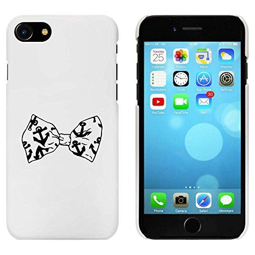 Blanc 'Ancre Cravate d'Arc' étui / housse pour iPhone 7 (MC00068488)