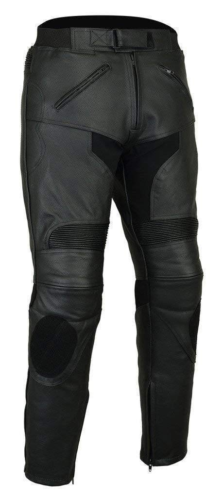 LT1005 Razor Sport Leather Trousers Removable CE Armoured Leather Pants