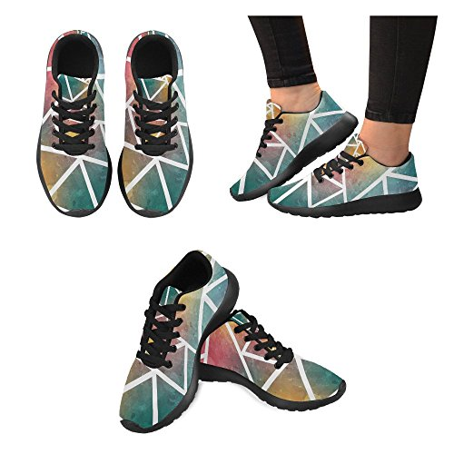 InterestPrint Womens Jogging Running Sneaker Lightweight Go Easy Walking Comfort Sports Athletic Shoes 4lbgZYT