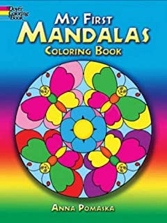My First Mandalas Coloring Book Dover Books