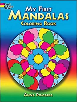 my first mandalas coloring book dover coloring books