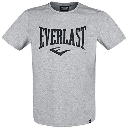 Everlast Sports T-Shirt, kurzärmelig, Grau meliert, FR: L (Größe Hersteller: L)