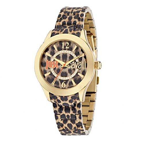 Just Cavalli R7253177501 - Reloj para Mujer con Correa de Acero Gris
