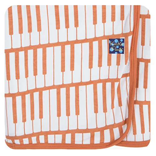 Price comparison product image KicKee Pants Swaddling Blanket Copper Piano Keys
