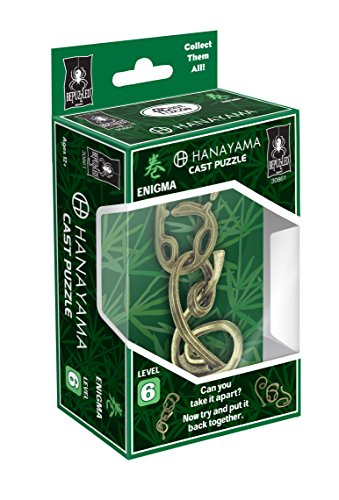 Cast Rope Collection - ENIGMA Hanayama Cast Metal Brain Teaser Puzzle (Level 6)