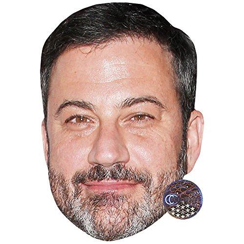 Jimmy Kimmel Celebrity Mask, Card Face and Fancy Dress Mask