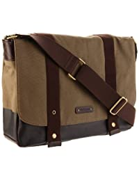 Storksak Unisex-Adult Aubrey SK014 Messenger Bag,Khaki Chocolate,One Size