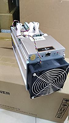 Antminer S9 Bitcoin Mining Machine - Powerful Asic Bitcoin Miner Using 16nm Technology Capable of 13.5th/s @ 0.098 W/gh - Compact Design with 1600 Watts Regulated Power Supply with Overheat Protection