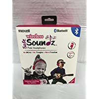 Maxell Wireless Bluetooth Safe Soundz Kids Headphones - Purple Headphone (199737)