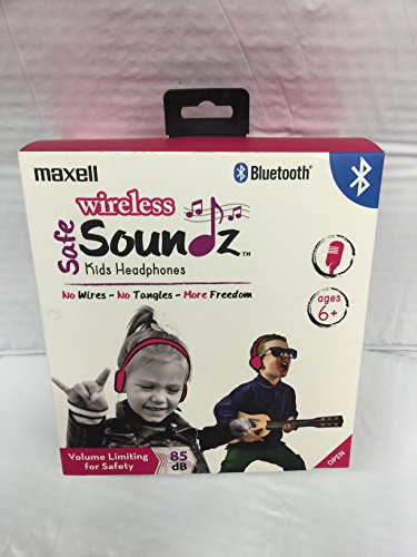 Maxell 199737 Compact Foldable Wireless Bluetooth Safe Sound