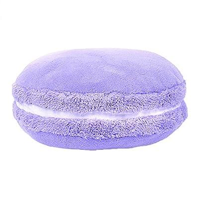 bjduck99 Fashion Girl Lovely Colorful Macaroon Round Cushion Pillow Home Decor Xmas Gift: Home & Kitchen