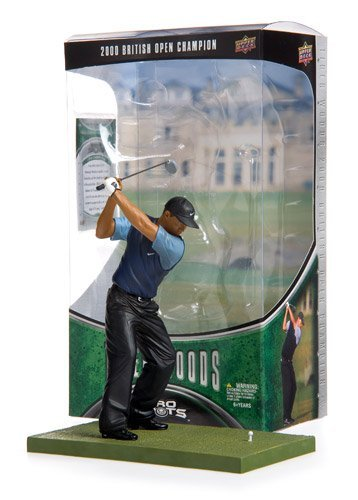 Tiger Woods RETAIL British Open Champion Upper Deck Pro Shots Series 2