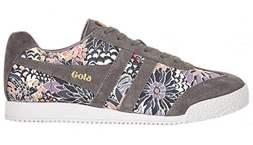 Gola - Zapatillas de Lona para mujer gris grigio scuro/multicolore