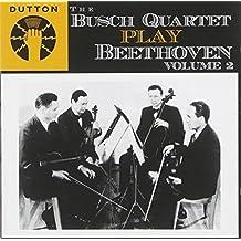 The Busch Quartet Play Beethoven, Vol. 2: String Quartet No. 3 & 14 by Dutton Labs UK (2007-10-09)